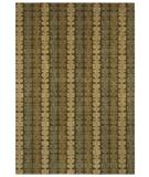RugStudio presents Shaw Angela Adams Modern Comfort Morgan Dark Green 13310 Machine Woven, Good Quality Area Rug
