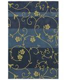 RugStudio presents Shaw Loft Nena Blue 07400 Hand-Tufted, Good Quality Area Rug