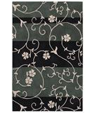 RugStudio presents Shaw Loft Nena Ebony 07500 Hand-Tufted, Good Quality Area Rug