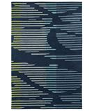 RugStudio presents Shaw Loft Neo Blue 01400 Hand-Tufted, Good Quality Area Rug