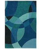 RugStudio presents Shaw Loft Nightlife Blue 14400 Hand-Tufted, Good Quality Area Rug