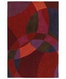RugStudio presents Shaw Loft Nightlife Red 14800 Hand-Tufted, Good Quality Area Rug