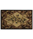 RugStudio presents Shaw Reflections Olive Diamond Beige 03100 Machine Woven, Good Quality Area Rug