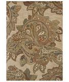 RugStudio presents Shaw Tommy Bahama Home-Nylon Paradiso Paisley Light Multi 45110 Machine Woven, Good Quality Area Rug