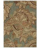 RugStudio presents Shaw Tommy Bahama Home-Nylon Paradiso Paisley Ocean 45600 Machine Woven, Good Quality Area Rug