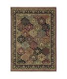 RugStudio presents Shaw Stonegate Qajar Multi - 9440 Machine Woven, Best Quality Area Rug