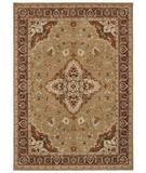 RugStudio presents Shaw Tommy Bahama Home-Nylon Port Royal Medallion Gold 47700 Machine Woven, Good Quality Area Rug