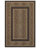 RugStudio presents Shaw Woven Expressions Gold Safari Skin Chocolate 14700 Machine Woven, Better Quality Area Rug