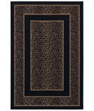 RugStudio presents Shaw Woven Expressions Gold Safari Skin Ebony 14500 Machine Woven, Better Quality Area Rug