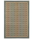 RugStudio presents Shaw Woven Expressions Gold Soho Blue Glacier 18400 Machine Woven, Better Quality Area Rug