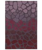 RugStudio presents Shaw Loft Stone Walk Purple 16900 Hand-Tufted, Good Quality Area Rug