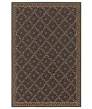 RugStudio presents Shaw Woven Expressions Gold Trellis Leaf Chocolate 16700 Machine Woven, Better Quality Area Rug