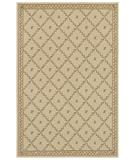 RugStudio presents Shaw Woven Expressions Gold Trellis Leaf Ivory 16105 Machine Woven, Better Quality Area Rug