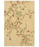 RugStudio presents Shaw Loft Winter Bloom Beige 05100 Hand-Tufted, Good Quality Area Rug