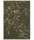 RugStudio presents Shaw Loft Winter Bloom Grey Hand-Tufted, Good Quality Area Rug