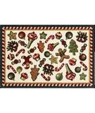 RugStudio presents Shaw Holidays Holiday Sweets 3P173-00118 Machine Woven, Good Quality Area Rug