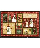 RugStudio presents Shaw Holidays Let It Snow 3P173-00102 Machine Woven, Good Quality Area Rug