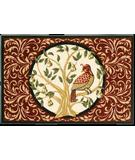 RugStudio presents Shaw Holidays Partridge in a Pear Tree 3P173-00103 Machine Woven, Good Quality Area Rug