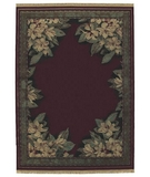 RugStudio presents Shaw Classic Style Boudreaux Border Garnet - 22800 Machine Woven, Better Quality Area Rug