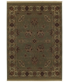 RugStudio presents Shaw Classic Style Palas Celadon - 29330 Machine Woven, Better Quality Area Rug