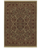 RugStudio presents Shaw Classic Style Royal Sarouk Natural - 30100 Machine Woven, Better Quality Area Rug