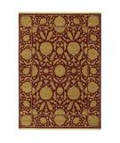 RugStudio presents Shaw Antiquities Wilmington Brick 91800 Machine Woven, Good Quality Area Rug