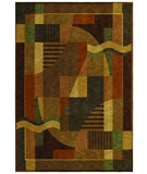 RugStudio presents Shaw Renaissance Moderne Dark Brown 02710 Machine Woven, Best Quality Area Rug