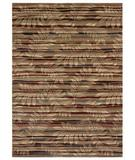 RugStudio presents Shaw Beachside Akona Forest Multi - 440 Machine Woven, Better Quality Area Rug