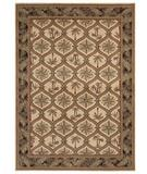 RugStudio presents Shaw Beachside Green Cove Beige - 7100 Machine Woven, Better Quality Area Rug