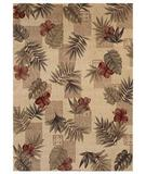 RugStudio presents Shaw Beachside Makiki Heights Beige - 8100 Machine Woven, Better Quality Area Rug