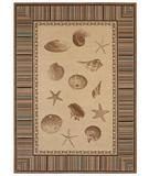 RugStudio presents Shaw Beachside Shell Point Beige - 2100 Machine Woven, Better Quality Area Rug