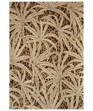 RugStudio presents Shaw Tommy Bahama Home-Nylon Tossed Palm Gold 42700 Machine Woven, Good Quality Area Rug