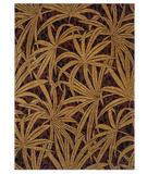 RugStudio presents Shaw Tommy Bahama Home-Nylon Tossed Palm Brown 42710 Machine Woven, Good Quality Area Rug