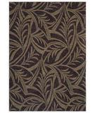 RugStudio presents Shaw Tommy Bahama Home-Nylon Abstract Leaf Navy 43400 Machine Woven, Good Quality Area Rug