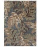 RugStudio presents Shaw Tommy Bahama Home-Nylon Archival Fern Ocean 44600 Machine Woven, Good Quality Area Rug