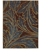 RugStudio presents Shaw Mirabella Acanthus Brown 26700 Machine Woven, Good Quality Area Rug
