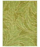 RugStudio presents Shaw Mirabella Acanthus Green 26300 Machine Woven, Good Quality Area Rug