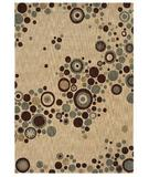 RugStudio presents Shaw Angela Adams Tidal Pool Beige 04100 Machine Woven, Good Quality Area Rug