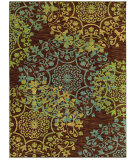 RugStudio presents Shaw Mirabella Almeria Brown 27700 Machine Woven, Good Quality Area Rug