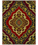 RugStudio presents Shaw Mirabella Andora Red 20800 Machine Woven, Good Quality Area Rug