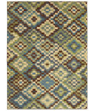 RugStudio presents Shaw Mirabella Andros Blue 43400 Machine Woven, Good Quality Area Rug
