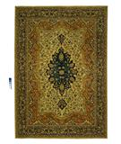 RugStudio presents Rugstudio Famous Maker 38070 Beige Machine Woven, Better Quality Area Rug