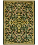 RugStudio presents Shaw Antiquities Mille Fleur Ebony 66500 Machine Woven, Best Quality Area Rug