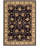 RugStudio presents Shaw Arabesque Coventry Cannon Black 00500 Machine Woven, Best Quality Area Rug