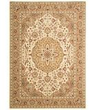 RugStudio presents Shaw Arabesque Easton Ivory Cream 02100 Machine Woven, Best Quality Area Rug