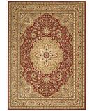 RugStudio presents Shaw Arabesque Easton Firebrick Red 02800 Machine Woven, Best Quality Area Rug