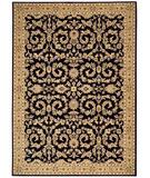 RugStudio presents Shaw Arabesque Juliard Cannon Black 03500 Machine Woven, Best Quality Area Rug