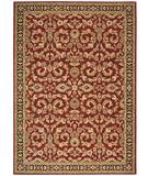 RugStudio presents Shaw Arabesque Juliard Firebrick Red 03800 Machine Woven, Best Quality Area Rug