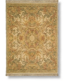 RugStudio presents Shaw Antiquities Aubusson Beige 64100 Machine Woven, Best Quality Area Rug
