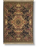 RugStudio presents Shaw Antiquities Aubusson Ebony 64500 Machine Woven, Best Quality Area Rug